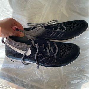 Black Nike Focus Flyknit Training Sneakers